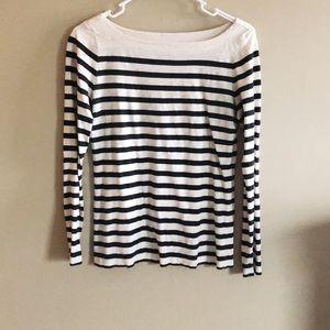 4 for $25   Loft   classic striped shirt